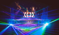 First Avenue Concert Laser Light Show at