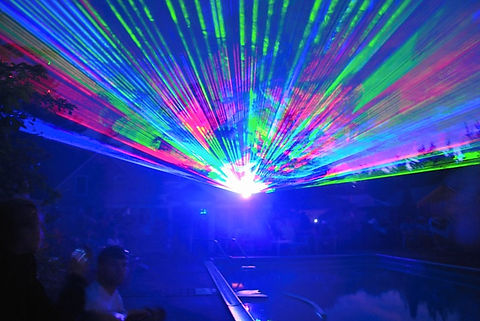 Special Event Laser show in california