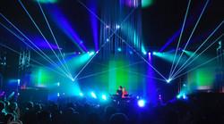 Ascend Ampitheater Live Concert Laser Li
