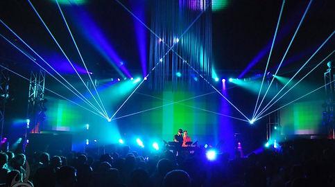 Ascend Ampitheater Live Concert Laser Light Show