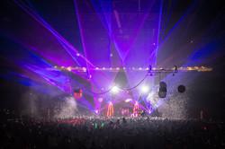 Starlight Theatre Laser Light Show Conce