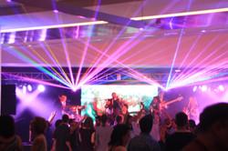 Baltimore Convention Center Laser Show
