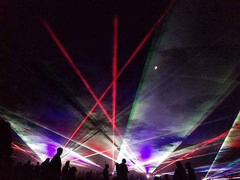 Agoura Hills Civic Special Event Laser Light Show