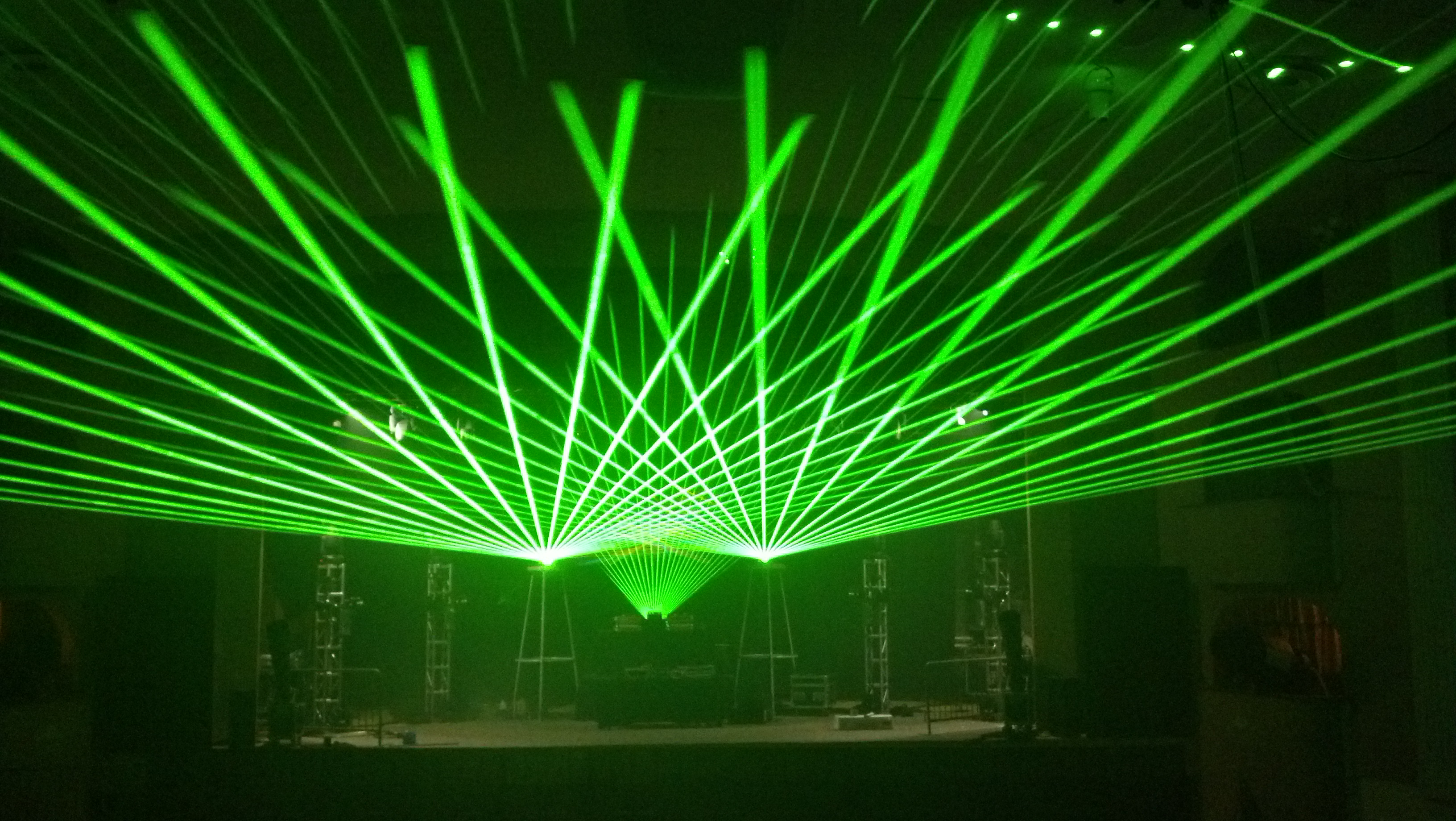State Theatre Concert Laser Light Show P