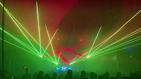 Manchester NH concert laser light show