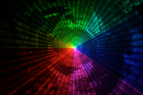 Special Event for Pride Party Laser show San Francisco