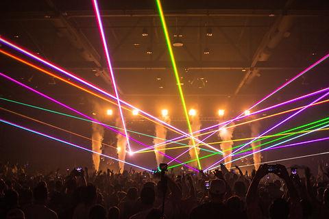 Fillmore Auditorium Concert Special effects laser show L