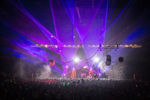 Roseland Theater Concert Laser Light Show Portland