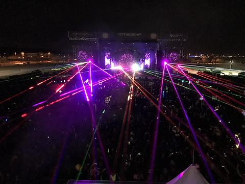 Lollapalozza Festival Lasers Chicago, IL
