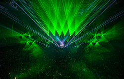 The WIltern Concert Laser Light Show LA