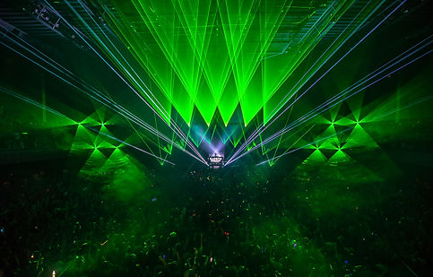 The WIltern Concert Laser Light Show Los angeles california
