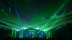 Concert Laser Show at The Fillmore