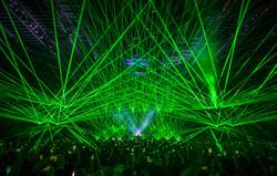 Laserface at Bill Graham Civic Auditoriu