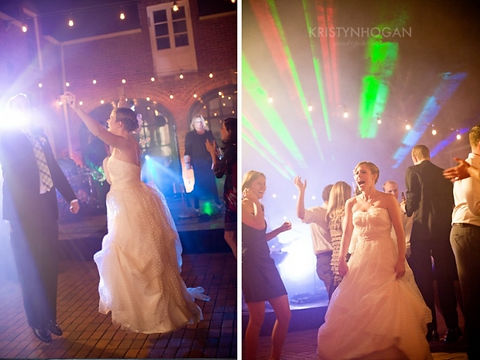 Clevaland Ohio Special Event Lasers at Wedding
