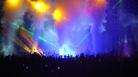 Concert Lasers and Special Effects Creating Excitment in Minneapolis, MN