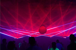CHI Health Center Concert Lasers Omaha,