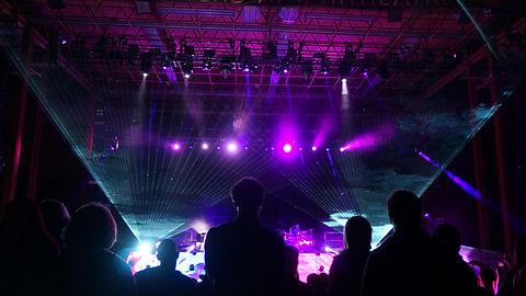 Concert Laser Light Show at The Observatory North Park