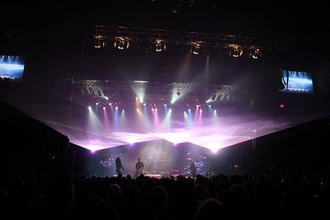 Louisville Kentucky Palace Theatre Concert Laser light show