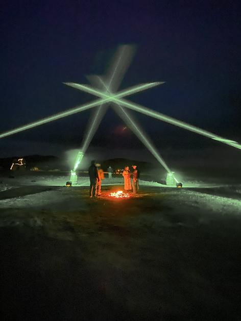 Breckenridge Special Event Laser Light show