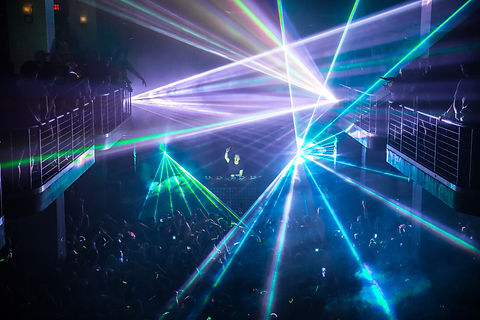 Special Event Corperate Party laser light show