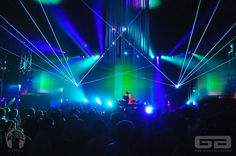 Consitution Hall Special Event Laser light show washington dc