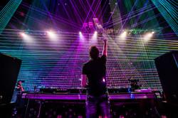 The Regency Ballroom Concert Laser Light