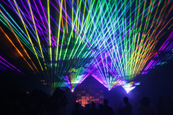 Outdoor Special Event Lasers Roger Williams Park Providence, Rhode Island