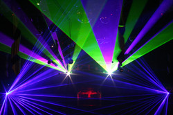 Exciting Concert Laser Light Show at the