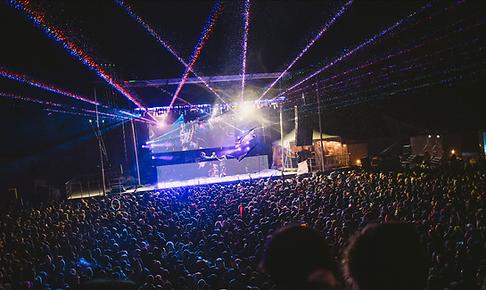Ski Resort Concert Special Event Laser Show
