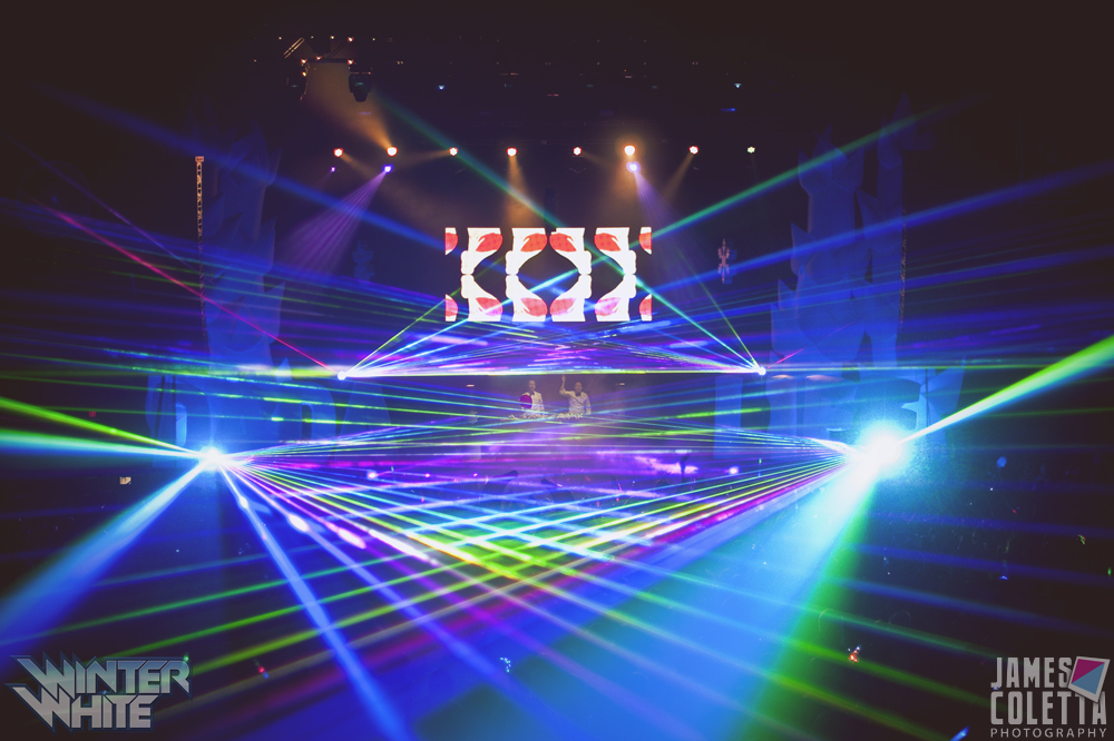 SAP Center at San Jose Concert Lasers fo
