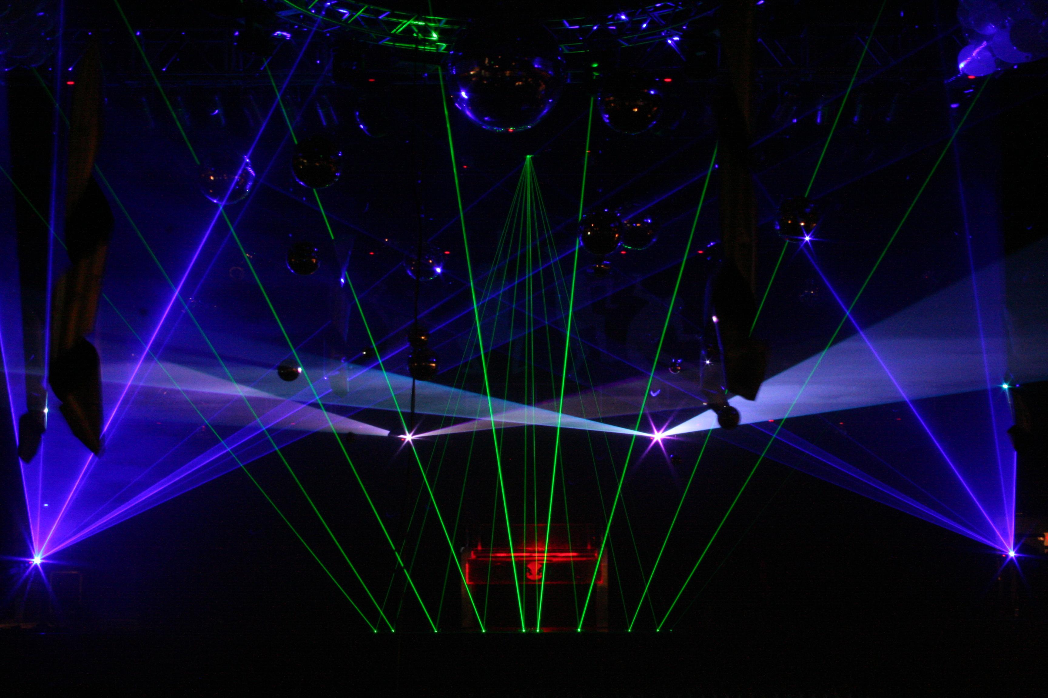 Warehouse Live Concert Laser Light Shows