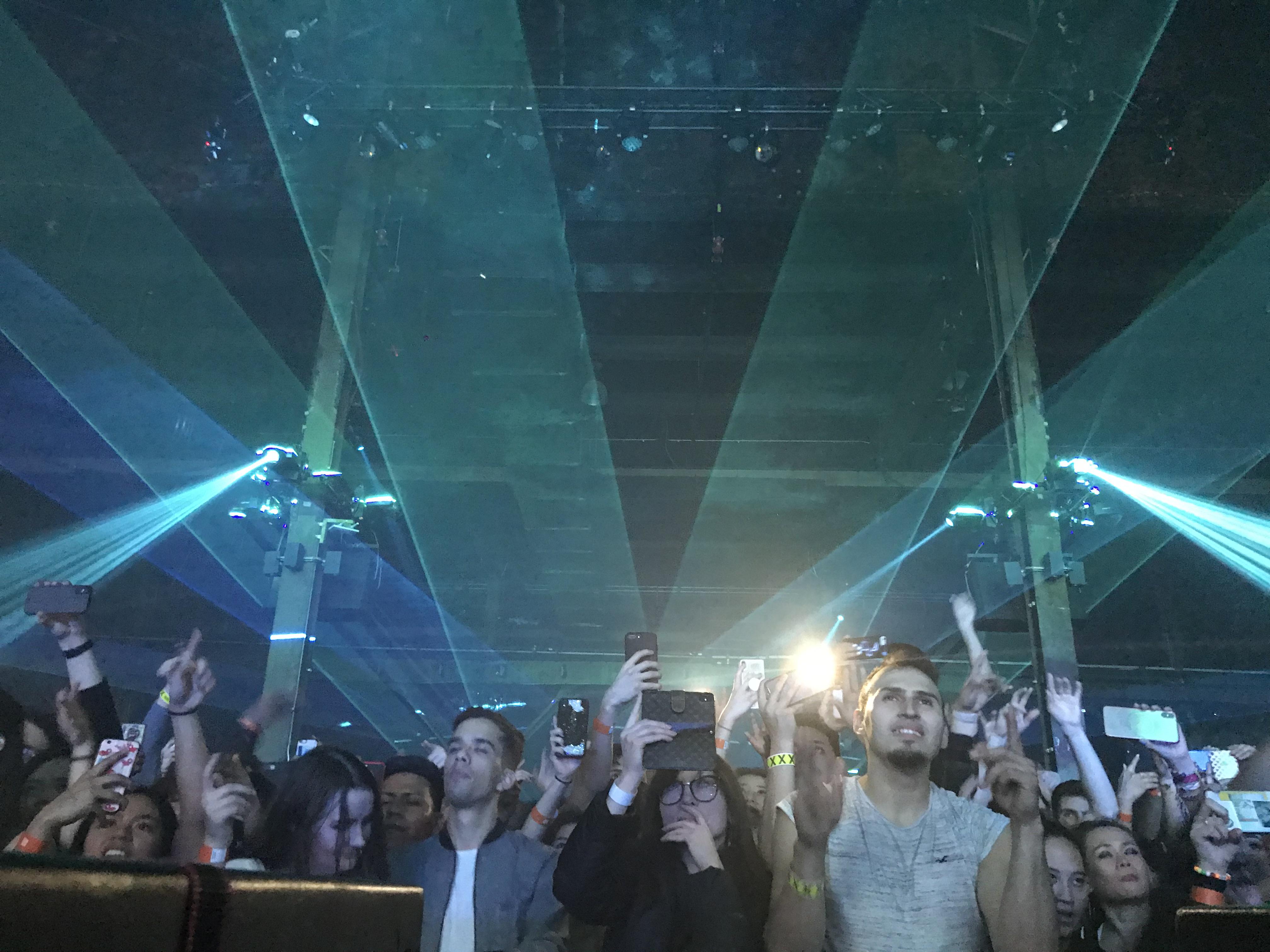 Hammerstein Ballroom Special Event Laser