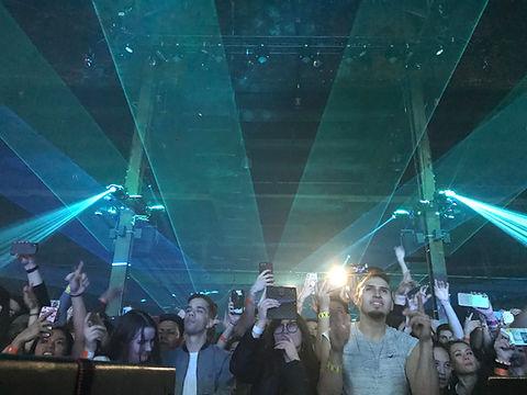Hammerstein Ballroom Special Event Laser Show