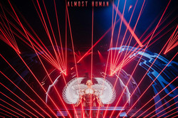 House of Blues Concert Laser Lights