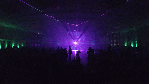 Corporate event laser show in Nashville TN