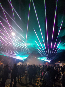 Denver Colorado Special Event Lasers Str