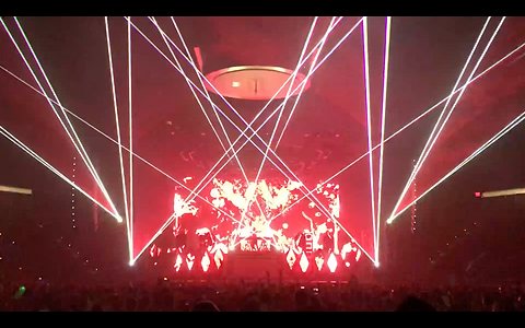 San Diego, CA EDM Concert Laser Light Show