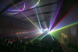 Hollywood Bowl Specal Event Laser Lights
