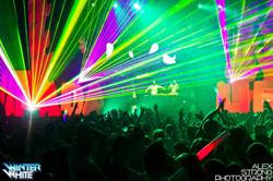 Concert Laser Show in Dallas Texas