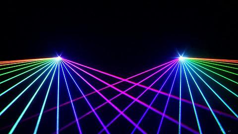 Portland Oregon custom laser light show