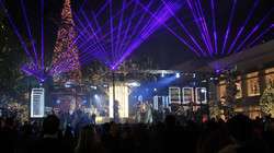 Outdoor Laser Show for Special Event Las
