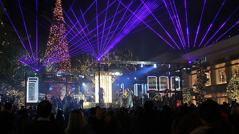 Outdoor Laser Show for Special Event washington dc