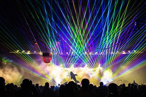 Bank of New Hampshire Pavillion Concert Laser Show Manchester