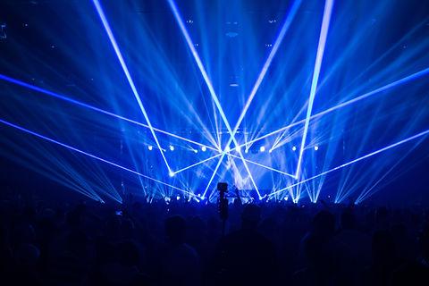 Bank of America Pavillion Laser Show