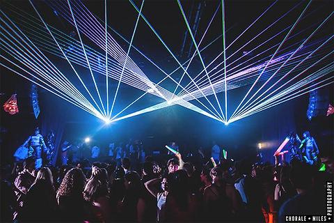Crest Theatre Concert Laser Light Show Sacramento