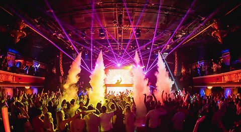 House of Blues Concert Lasers Dallas, Texas