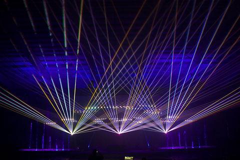 Prudential Center Concert Lasers Newark, NJ