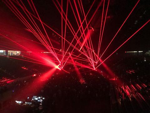 Wintrust Arena Concert Lasers Chicago, IL
