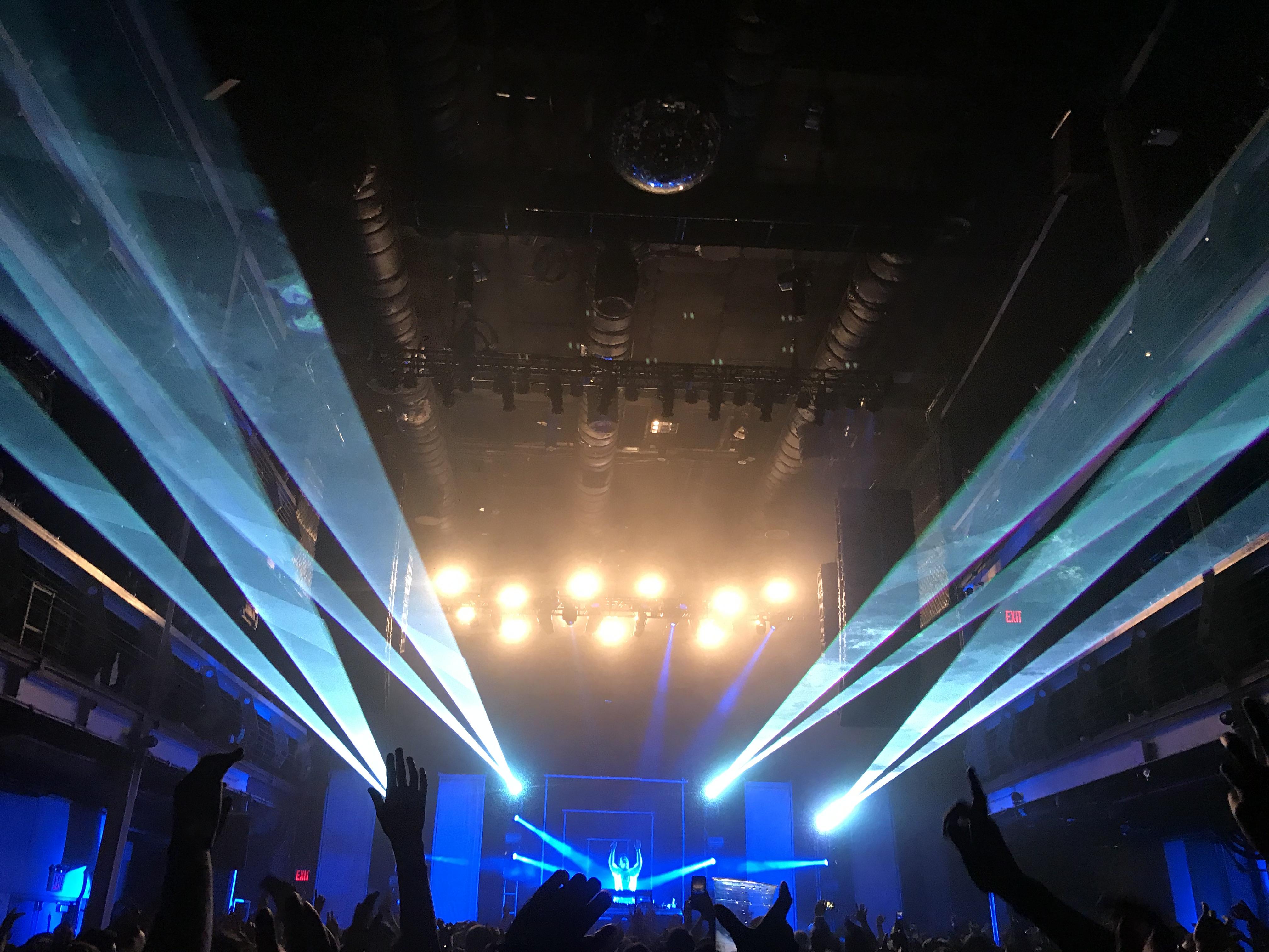 Franklin Music Hall Bright Concert Laser