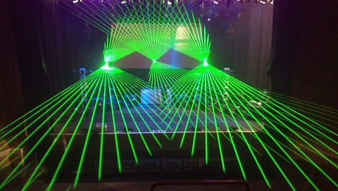 Creative Fundraiser Entertainment Special Event Laser Show